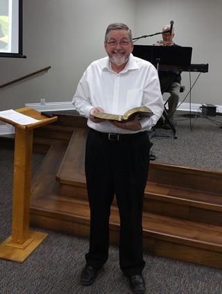 Pastor Tom Martin