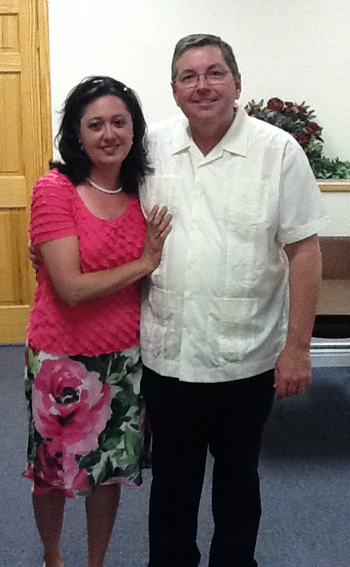 Pastor Tom with wife Cynthia